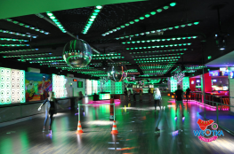 Katowice Atrakcja Tor wrotkarski Wrotka Roller Disco
