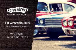 Sosnowiec Wydarzenie Zlot samochodowy MotoLegends 2019 - Festiwal klasyków motoryzacji