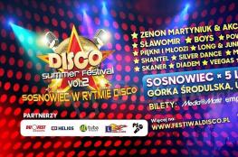 Sosnowiec Wydarzenie Festiwal Disco Summer Festival 2019: Sosnowiec